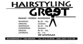 Hairstyling Greet
